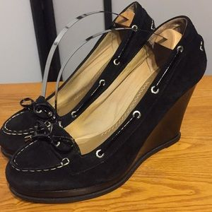 49acefed99a Sperry Top-Sider Wedge Shoe Size 9.5 Black